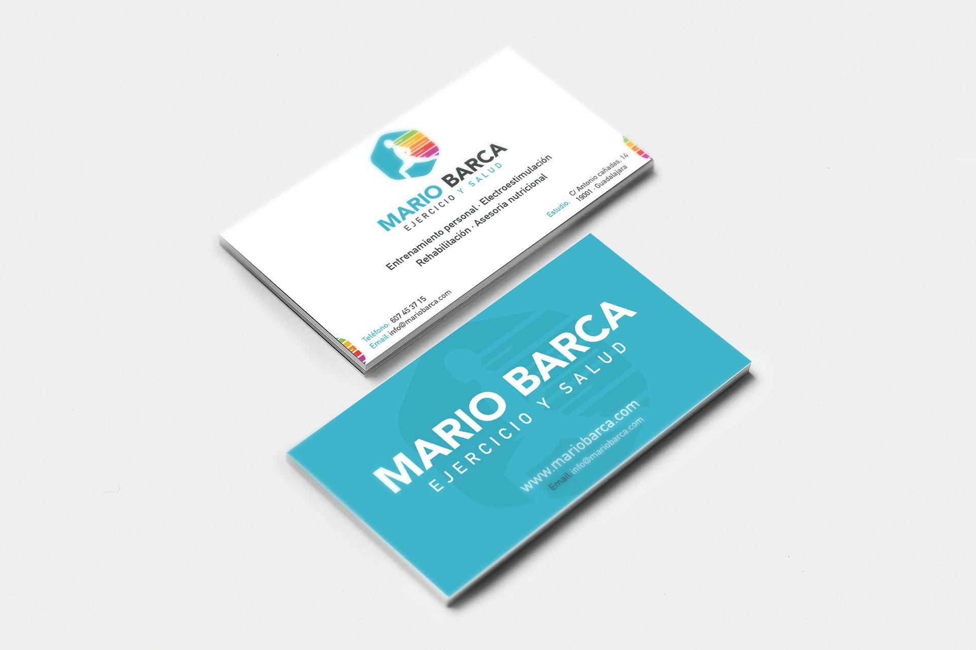 Logotipo Mario Barca