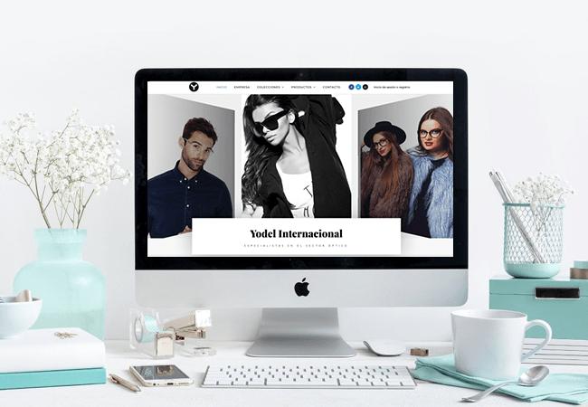 Rediseño web con tienda online yodel.es